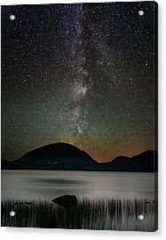 Eagle Lake And The Milky Way Acrylic Print by Brent L Ander