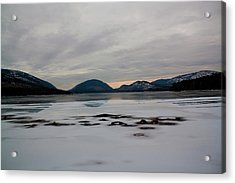 Acrylic Print featuring the photograph Eagle Lake Sunset I by Greg DeBeck