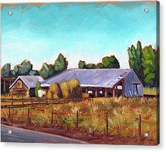 Eagle Road Barn Acrylic Print