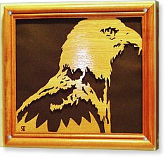 Eagle Acrylic Print by Russell Ellingsworth