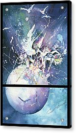 Eagle Spirit Dance Acrylic Print