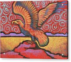 Eagle Totem Acrylic Print