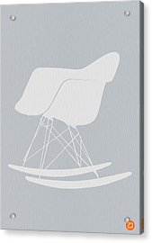Eames Rocking Chair Acrylic Print by Naxart Studio