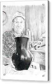 Earl Acrylic Print by Chris Randall