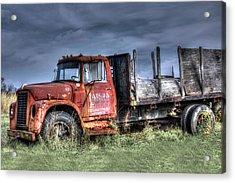 Acrylic Print featuring the photograph Earl Latsha Lumber Company Version 2  by Shelley Neff