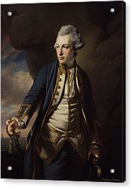 Earl Of St Vincent Acrylic Print by John Jervis