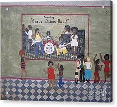 Earls Blues Band Acrylic Print by Gregory Davis