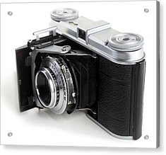 Early 35mm Film Camera Acrylic Print