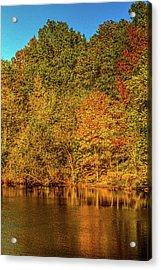 Early Autumn Acrylic Print by Barry Jones