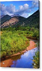 Acrylic Print featuring the photograph Early Autumn In Colorado by John De Bord