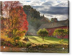 Early Autumn Morning Acrylic Print by Bill Wakeley