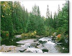 Early Autumn On The Madawaska River Acrylic Print