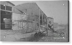 Early Aviation Acrylic Print by Gwyn Newcombe