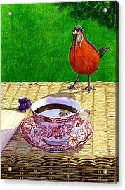 Early Bird Acrylic Print