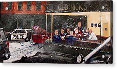 Early Christmas Morning Coffee Acrylic Print