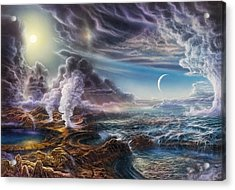 Early Earth Acrylic Print by Don Dixon