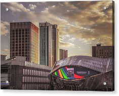 Early Evening At Grand Central Acrylic Print