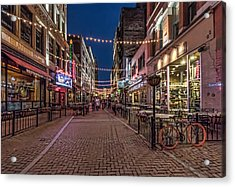 Early Evening On E. 4th Acrylic Print