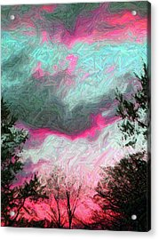 Acrylic Print featuring the photograph Early Evening by Susan Carella