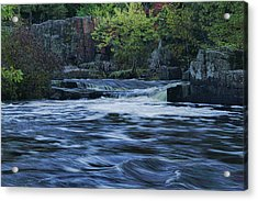 Early Fall At Eau Claire Dells Park Acrylic Print