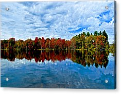 Early Fall Colors. New York Acrylic Print