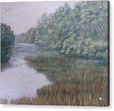 Early Fall Serenity Acrylic Print by Joann Renner