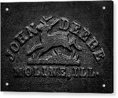 Early John Deere Emblem Acrylic Print