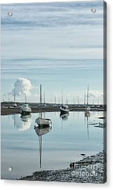 Early Morning At Brancaster Staithe Norfolk Uk Acrylic Print