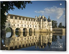 Early Morning At Chateau Chenonceau Acrylic Print