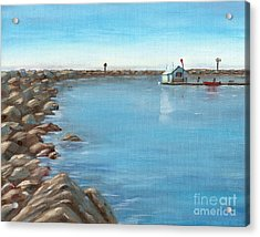 Early Morning At Dana Point Acrylic Print