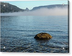 Acrylic Print featuring the photograph Early Morning At Lake St Clair by Werner Padarin