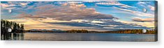 Early Morning At Lake Wentworth Acrylic Print