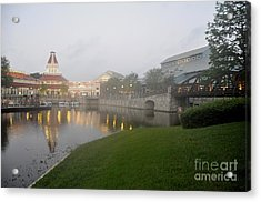Early Morning At Port Orleans Riverside Acrylic Print