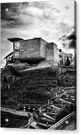 Early Morning At The Hunter Museum In Black And White Acrylic Print