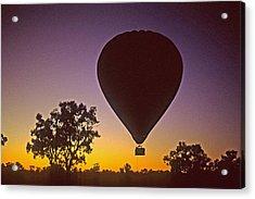 Early Morning Balloon Ride Acrylic Print by Gary Wonning