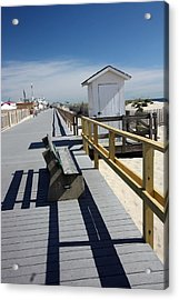 Early Morning Boardwalk Acrylic Print