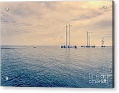 Early Morning Boat Ride - Nola Acrylic Print