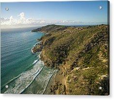 Early Morning Coastal Views On Moreton Island Acrylic Print