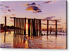 Early Morning Contrasts Acrylic Print