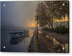 Early Morning Cruise Acrylic Print by Chris Fletcher