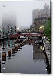 Early Morning Fog Acrylic Print
