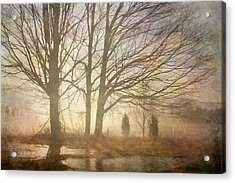 Early Morning Fog Acrylic Print by Betty  Pauwels