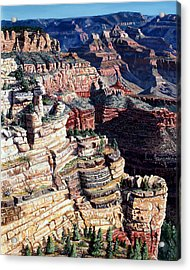 Early Morning From The South Rim Acrylic Print