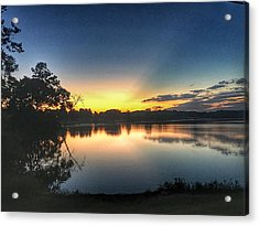 Early Morning Glow Acrylic Print