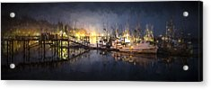 Early Morning Harbor IIi Acrylic Print