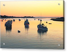 Early Morning In Chatham Harbor Acrylic Print by Roupen  Baker