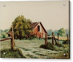 Early Morning In East Texas Acrylic Print