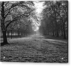 Early Morning In Hyde Park 16x20 Acrylic Print