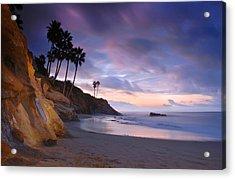 Early Morning In Laguna Beach Acrylic Print by Dung Ma