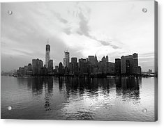 Early Morning In Manhattan Acrylic Print